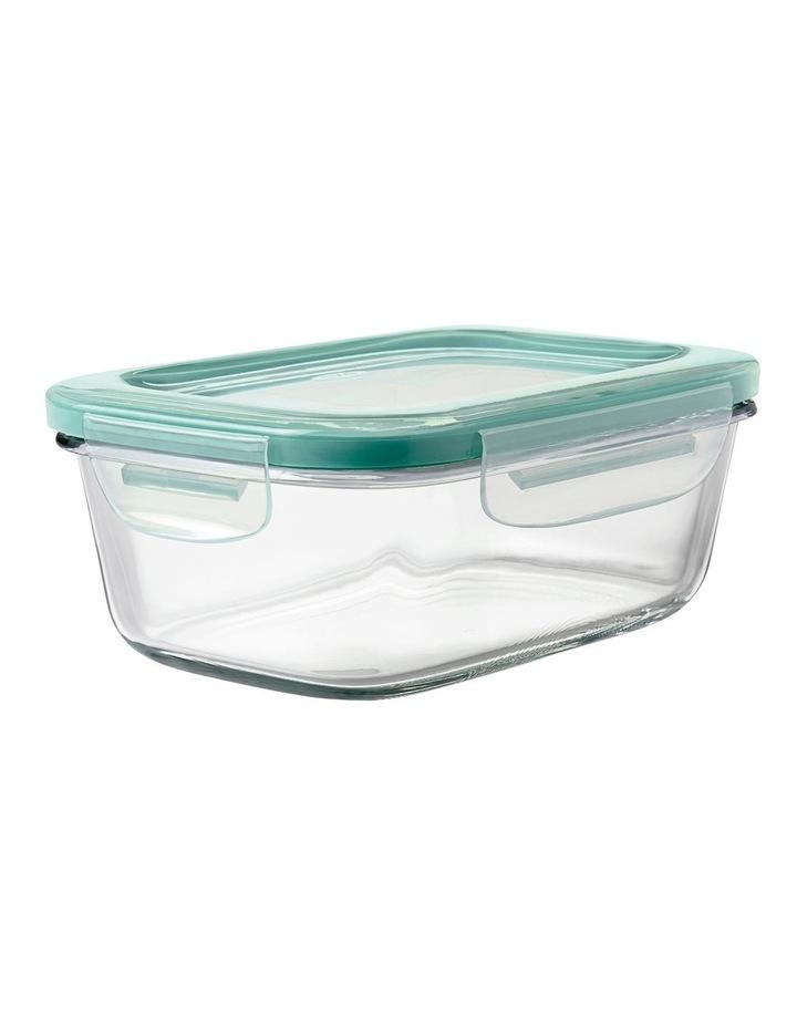 4-Piece Smart Seal Glass Rectangular Container Set image 4