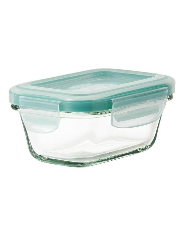 4-Piece Smart Seal Glass Rectangular Container Set image 6