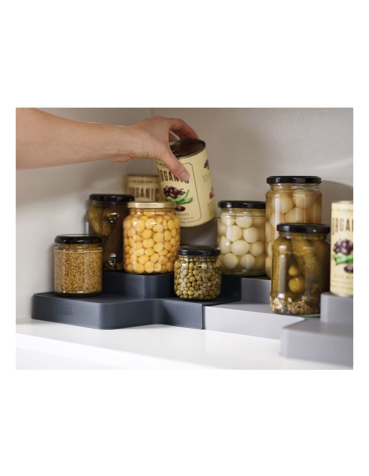 Cupboard Store Expandable Tiered Organiser image 2