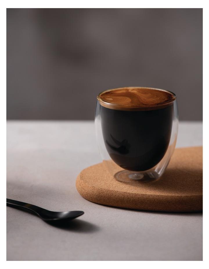 Pavina Double Wall Latte Glasses, Set of 2, 250ml image 2
