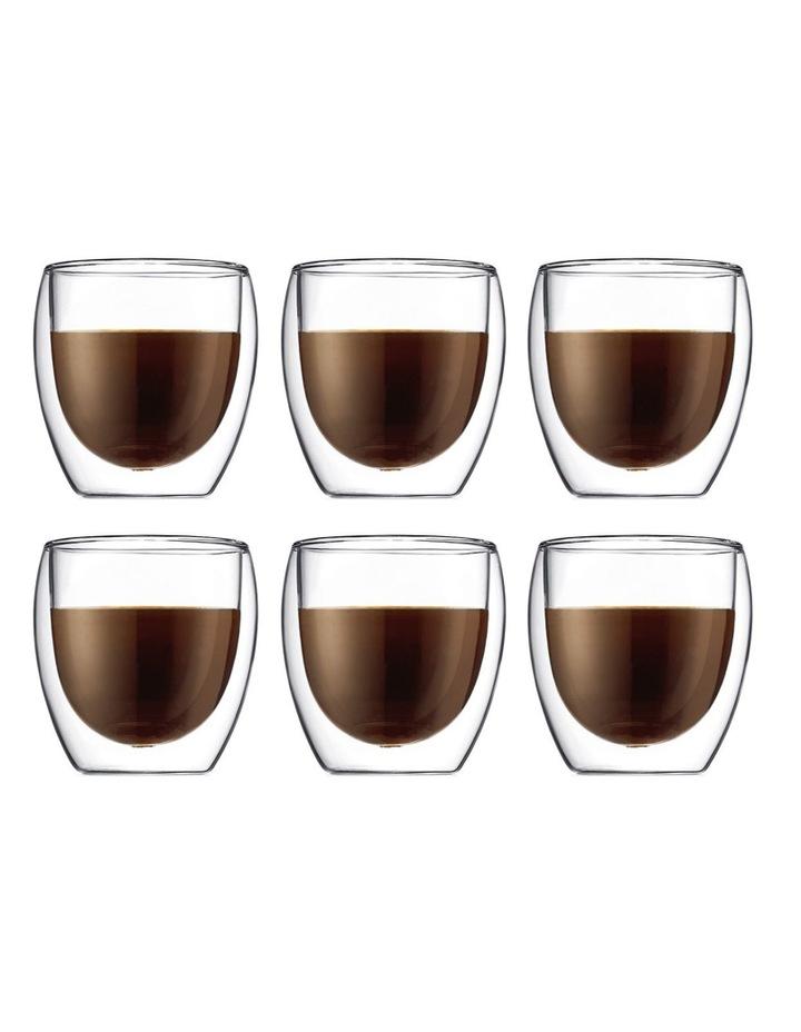 Pavina Double Wall Latte Glasses, Set of 2, 250ml image 5