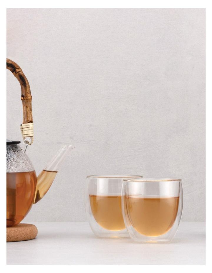 Pavina Double Wall Latte Glasses, Set of 2, 250ml image 6