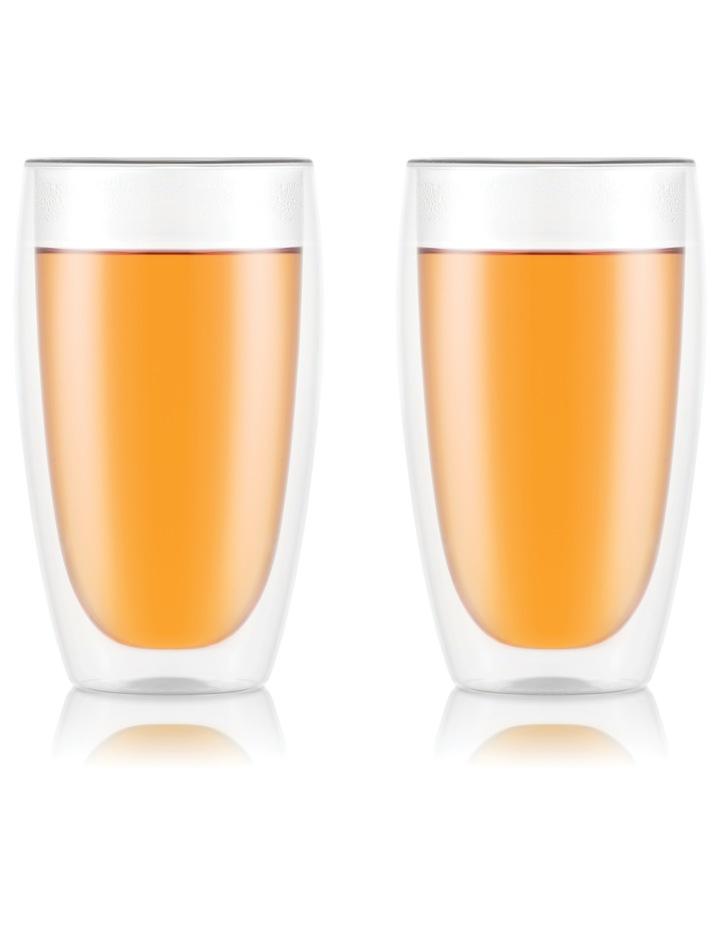 Pavina Double Wall Glasses, Set of 2, 450ml image 1