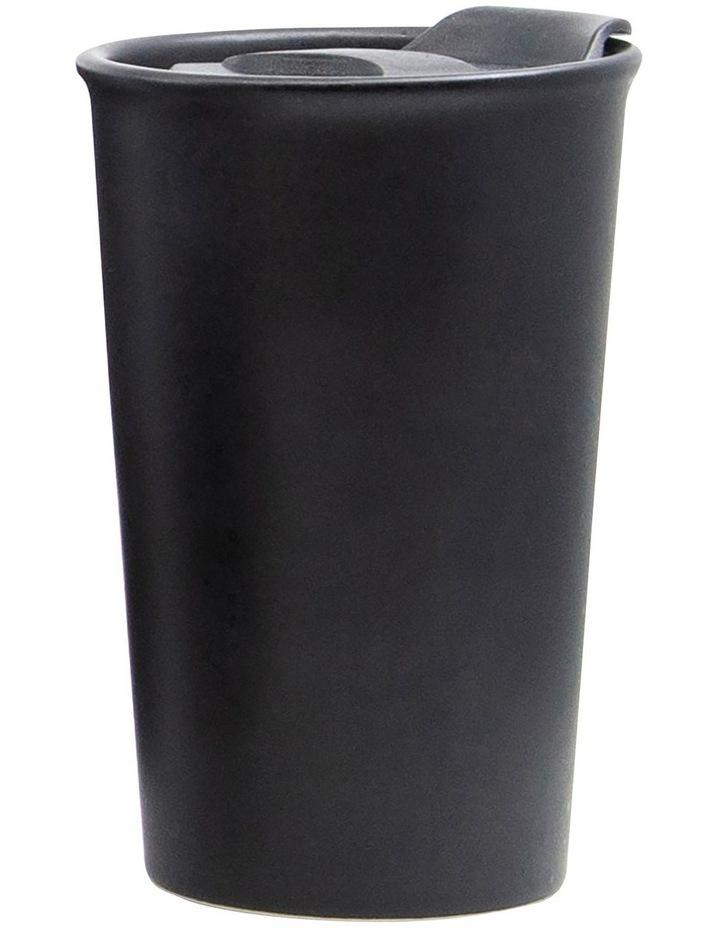Brew Double Wall Travel Mug 270ml - Black image 1