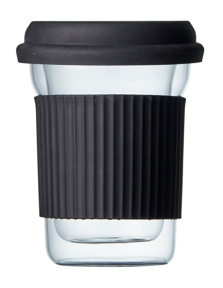 Brew Double Wal Travel Mug 285ml - Glass image 1