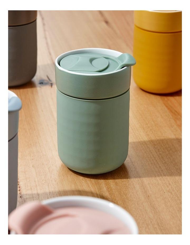 Eco Brew Teal Travel Mug image 2