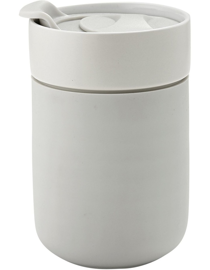 Eco Brew Grey Travel Mug image 1