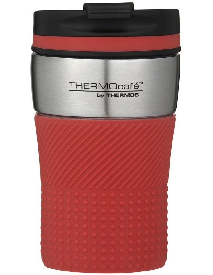 200ml THERMOcafe Vacuum Insulated Travel Cup - Dark Red image 1