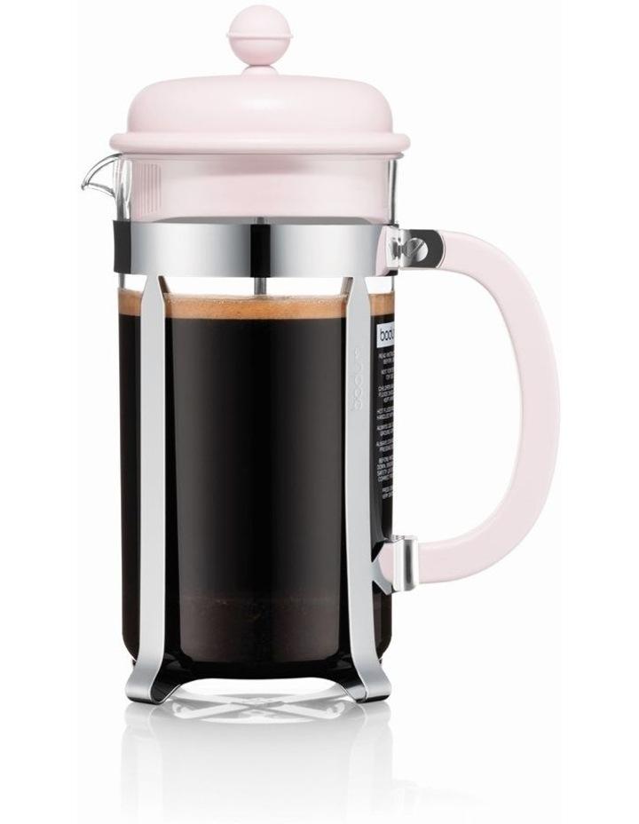 Caffettiera Coffee maker, plastic beaker, 8 cup, 1.01 l, 34 oz - Strawberry image 1