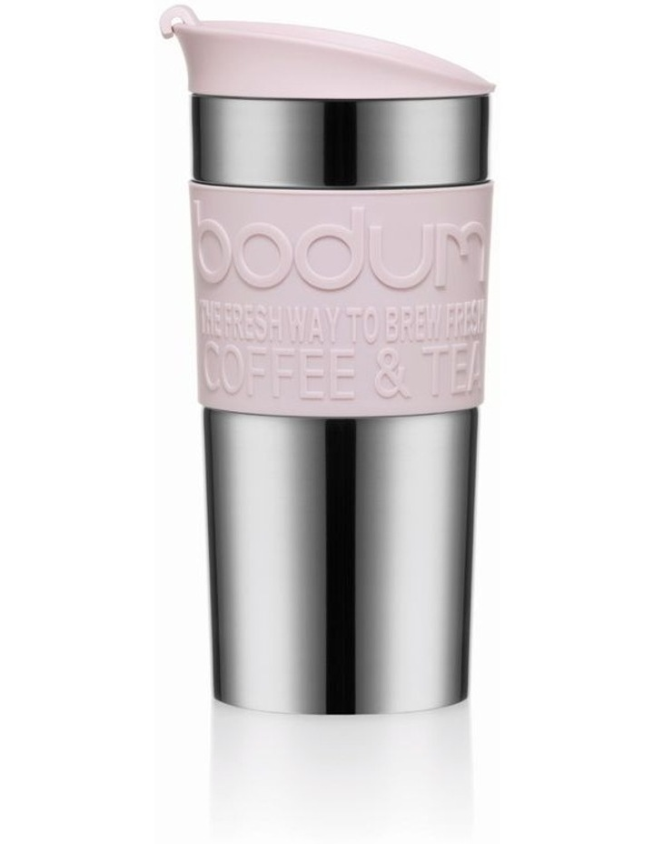 Travel Mug Stainless Steel, 0.35 l, 12 oz - Strawberry image 1