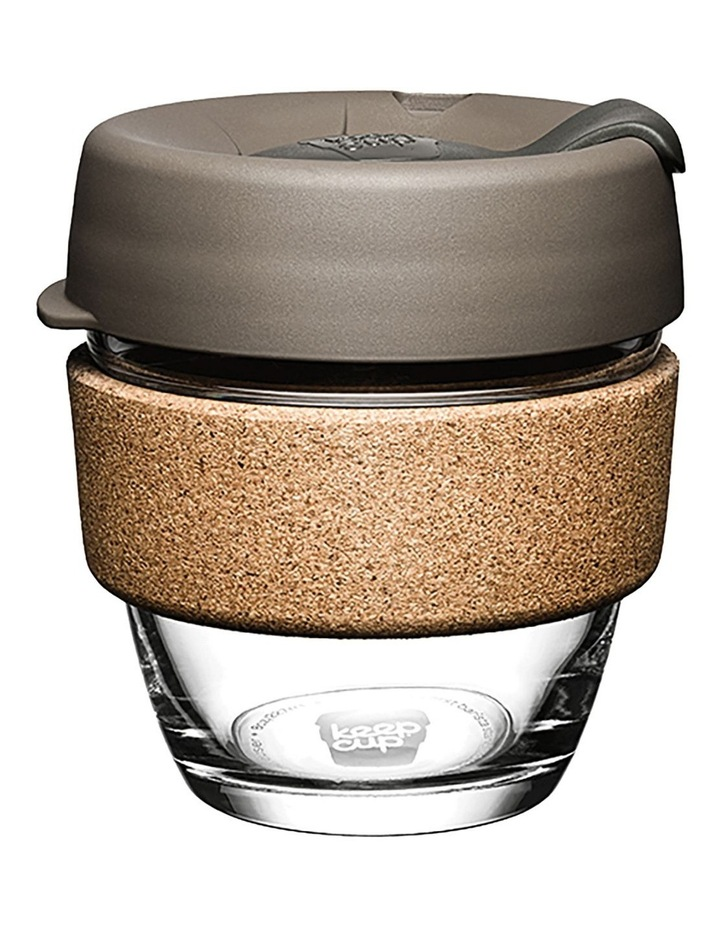 Brew Cork, Reusable Glass Cup, Latte S 8oz / 227ml image 1