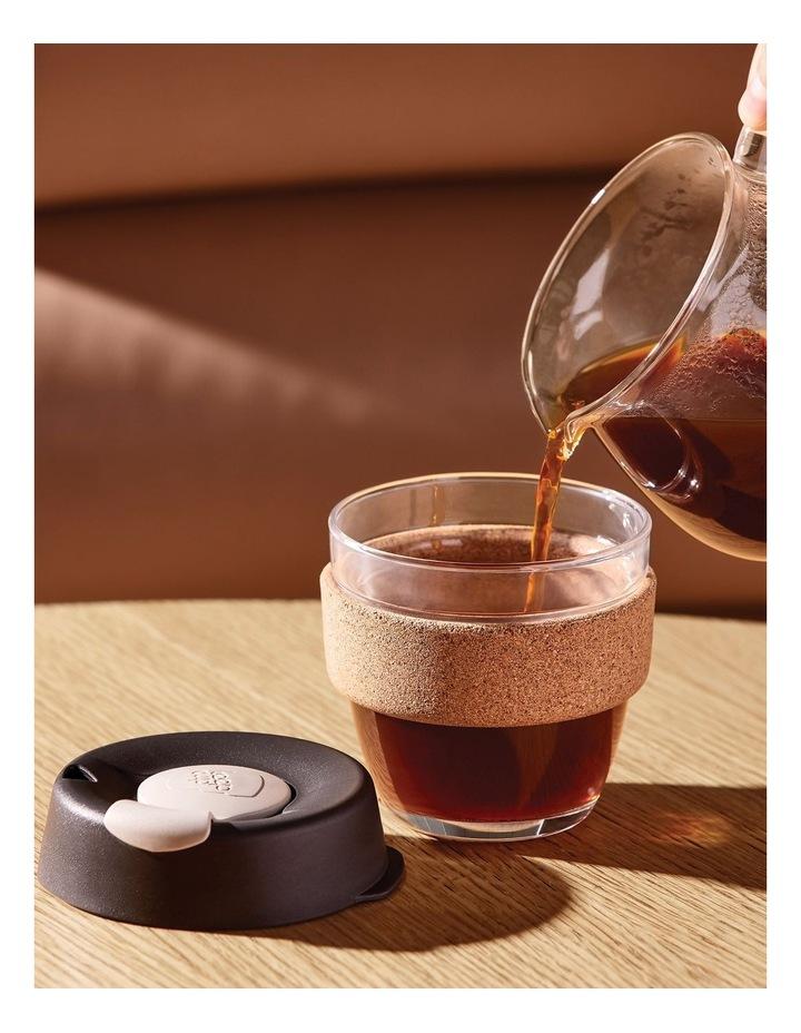 Brew Cork, Reusable Glass Cup, Saskatoon S 8oz / 227ml image 2