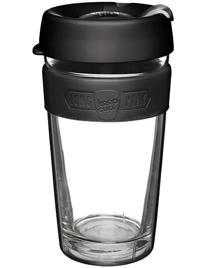 Brew Longplay, Double-walled Reusable Cup, Black M 12oz / 340ml image 1