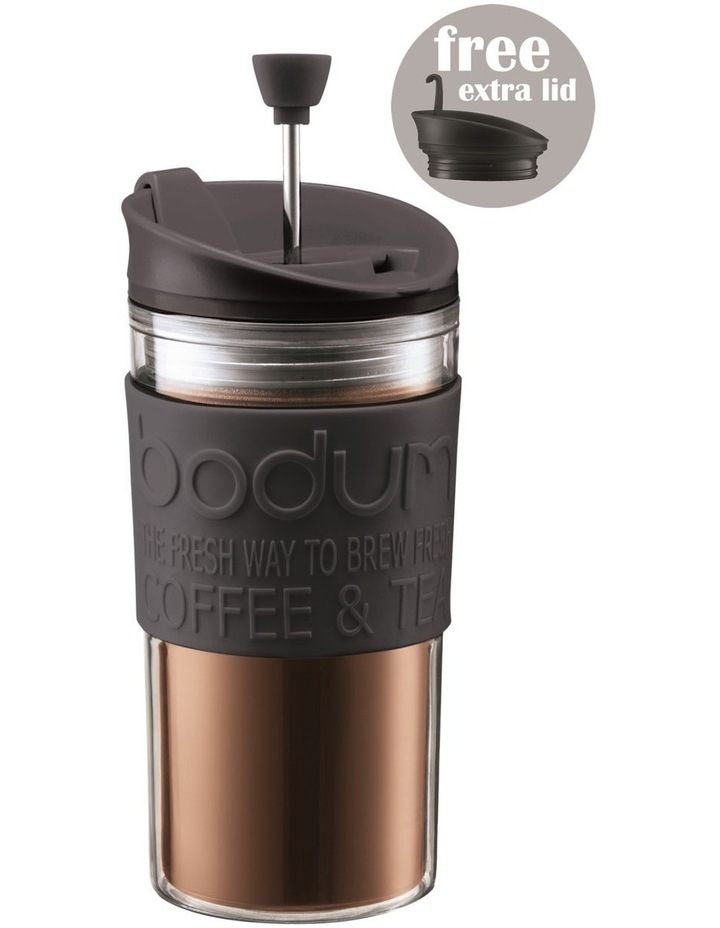 Travel Press Set Coffee Maker with Extra Lid 0.35L image 1