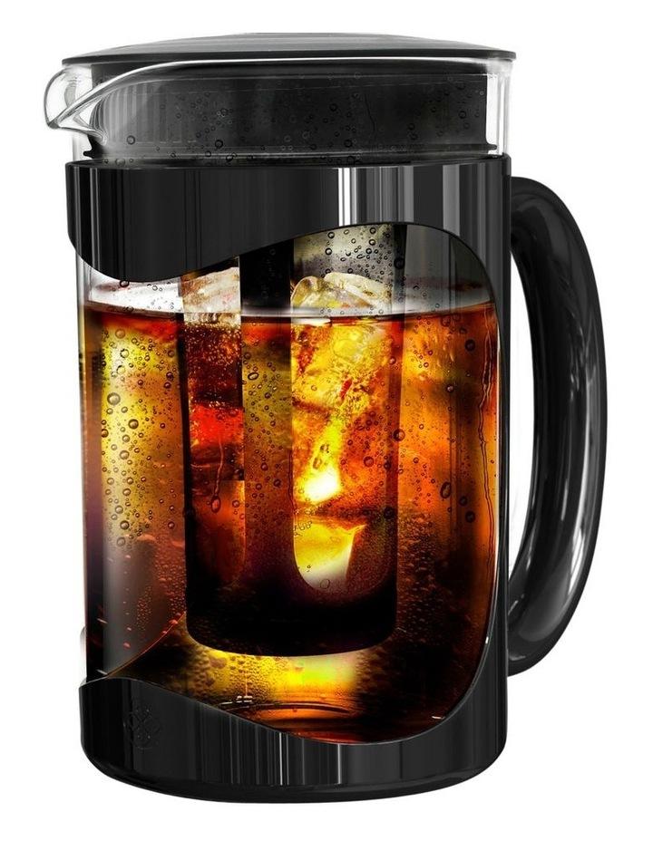 Burke Cold Brew Iced Coffee Maker - Glass Carafe 1.5 litre, Black image 2