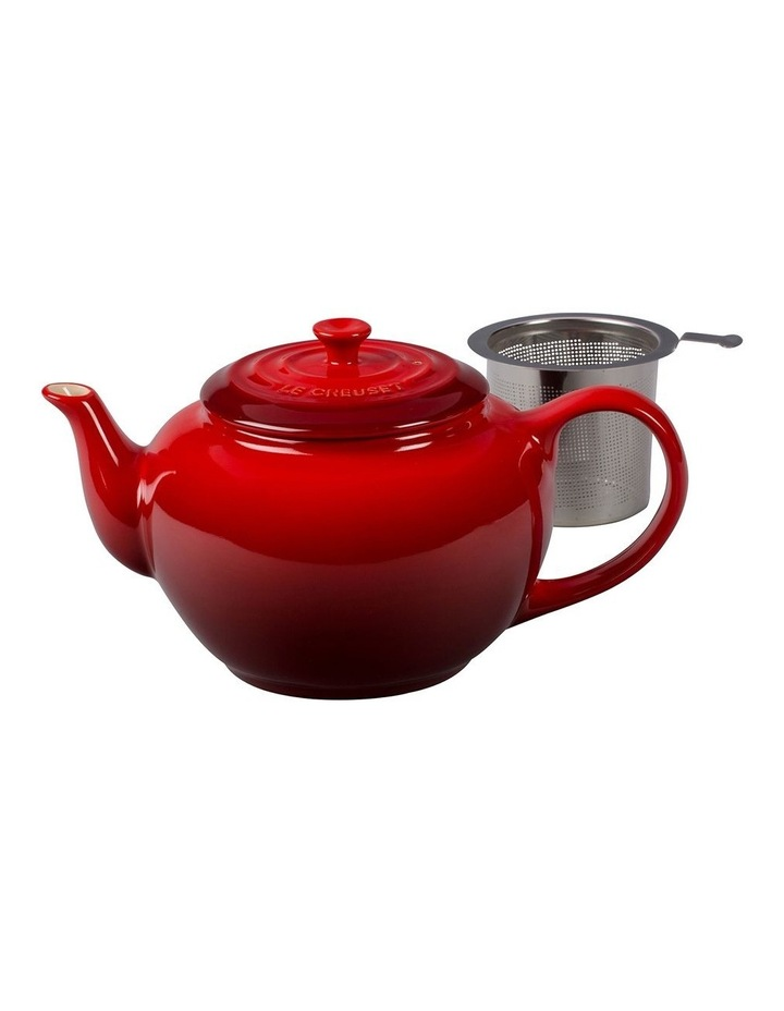Classic Teapot wth Stainless Steel Infuser Cerise image 1