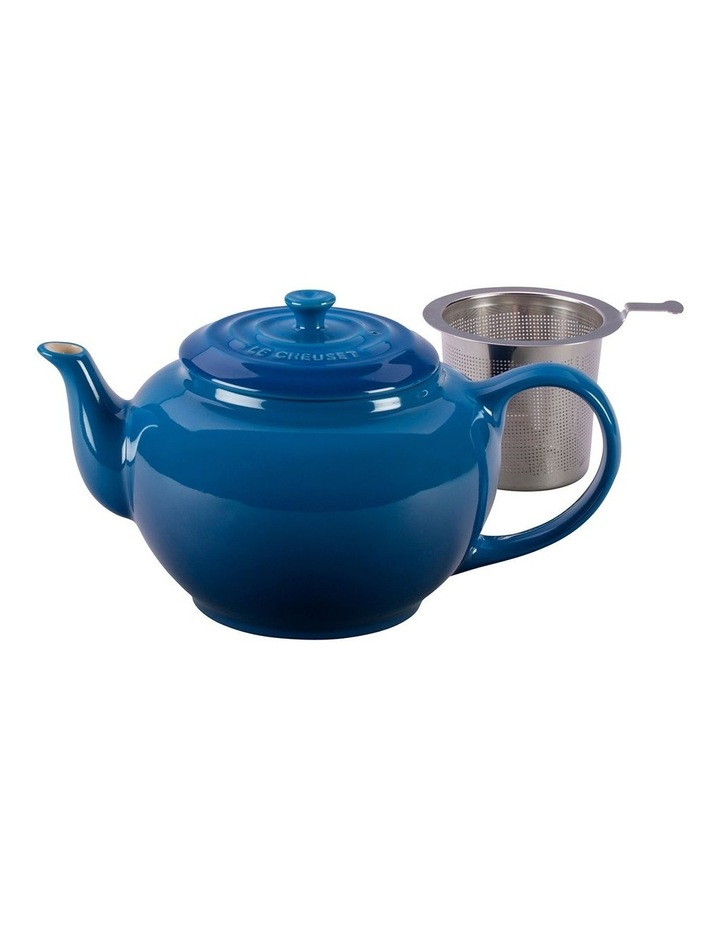 Classic Teapot wth Stainless Steel Infuser Marseille Blue image 1