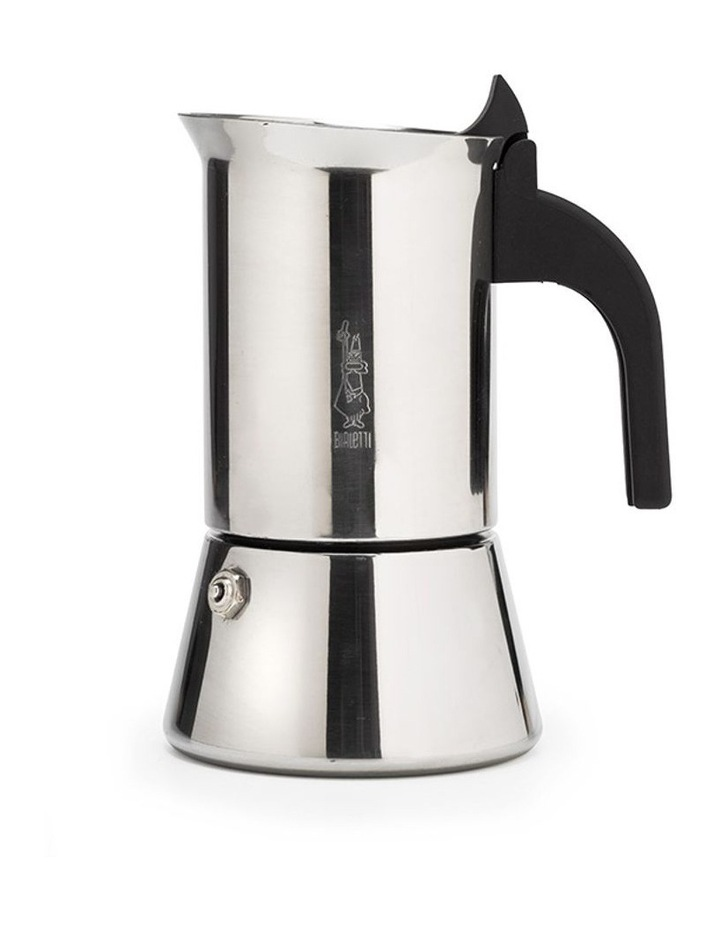 Venus Stainless Steel induction 4 Cup Coffee Pot in Silver image 1