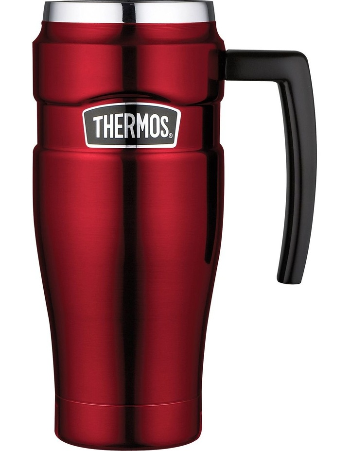 Stainless King Vacuum Insulated 470ml Travel Mug - Red image 1