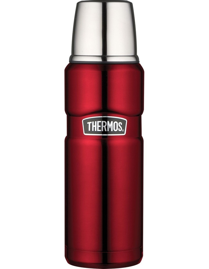 Stainless King Vacuum Insulated 470ml Flask - Red image 1