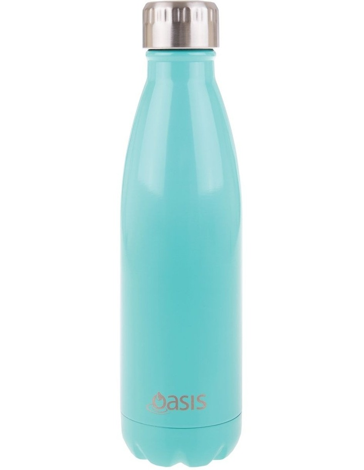 Stainless Steel Double Wall Insulated Drink Bottle 500ml - Spearmint image 1