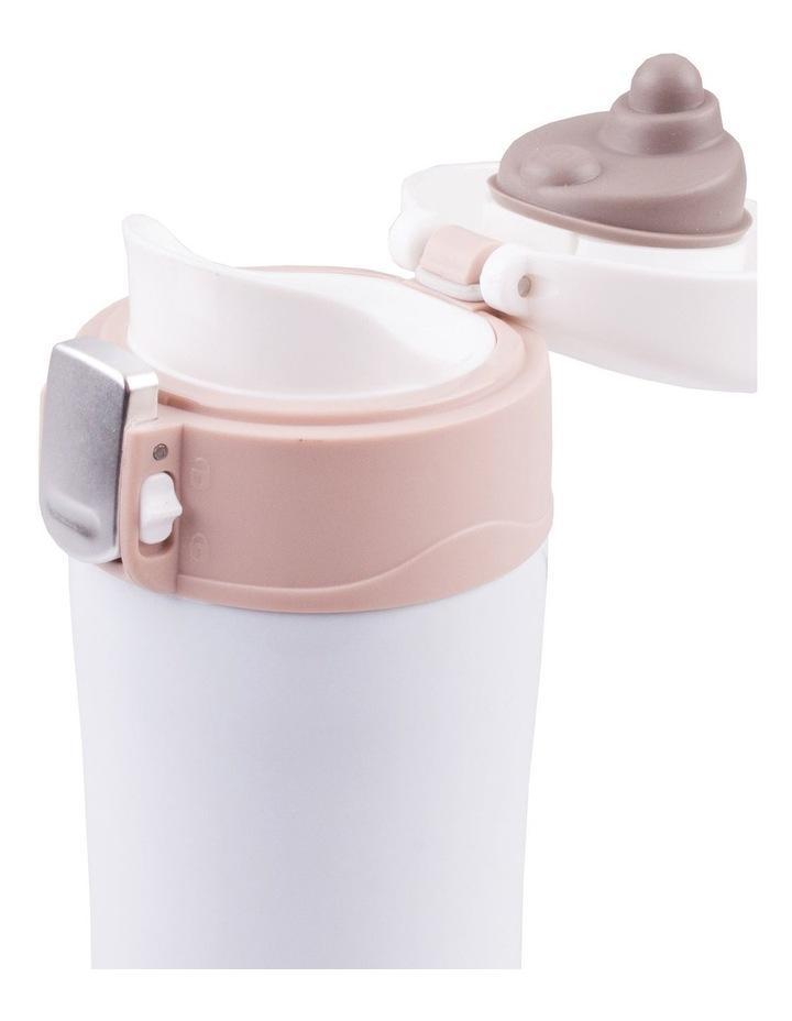 Stainless Steel Flip-Top Vacuum Flask 450ml - Gunmetal image 2