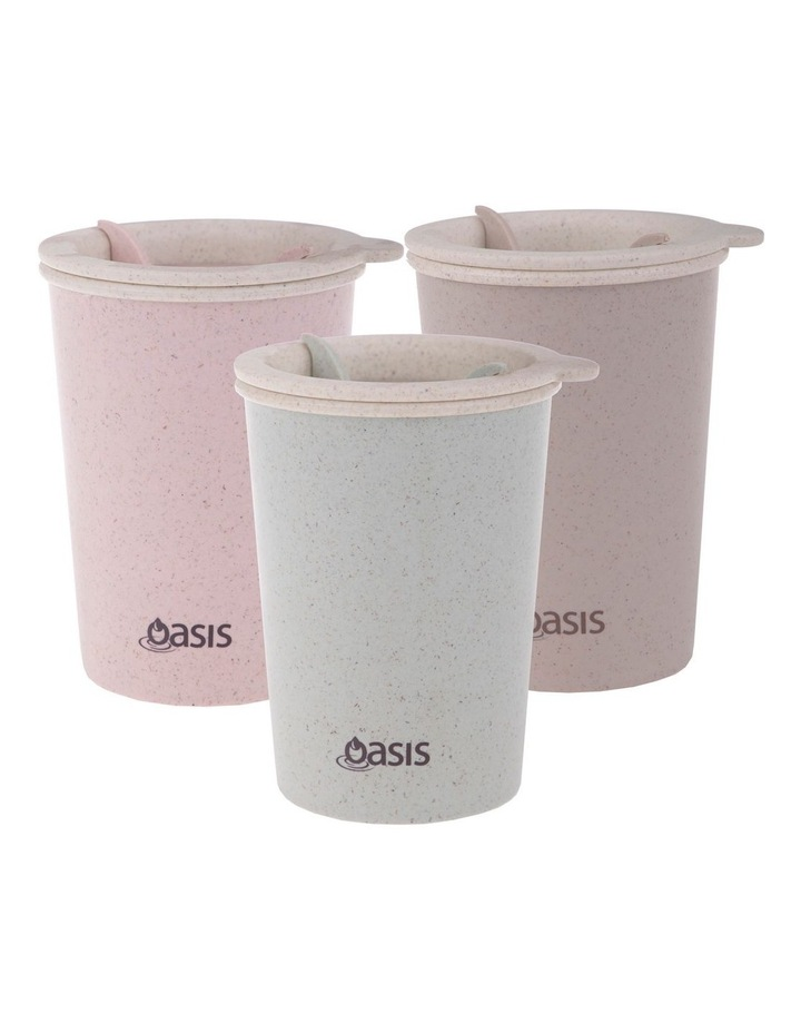 "Double Wall ""Eco Cup"" 300ml  - Asst. Colours image 1"