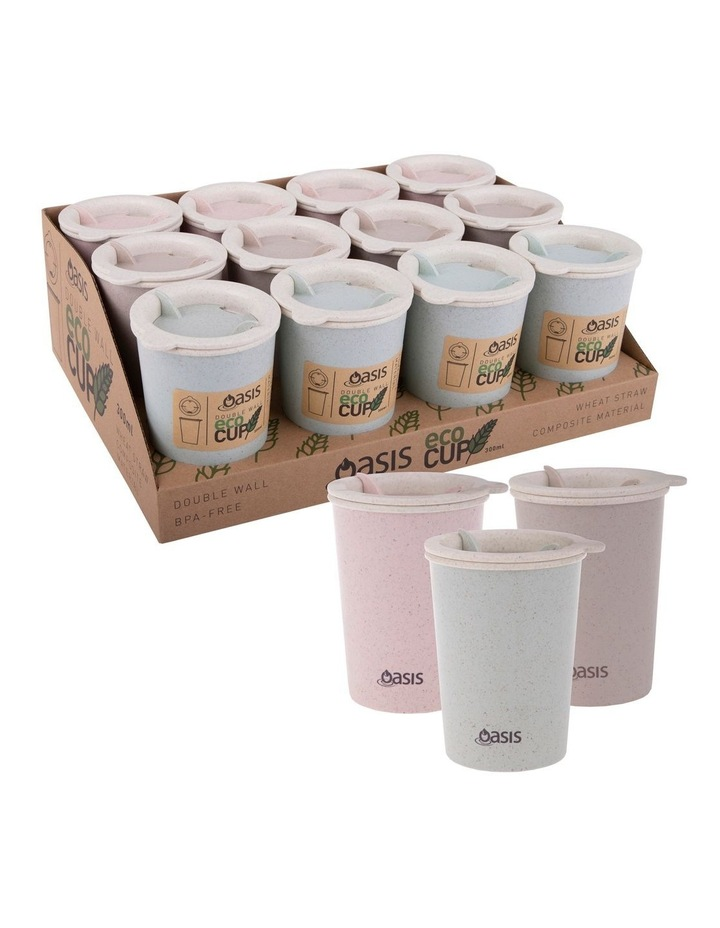 Double Wall Eco Cup 300ml in Assorted Colours image 2