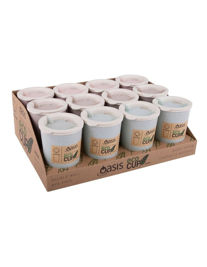 "Double Wall ""Eco Cup"" 300ml  - Asst. Colours image 3"