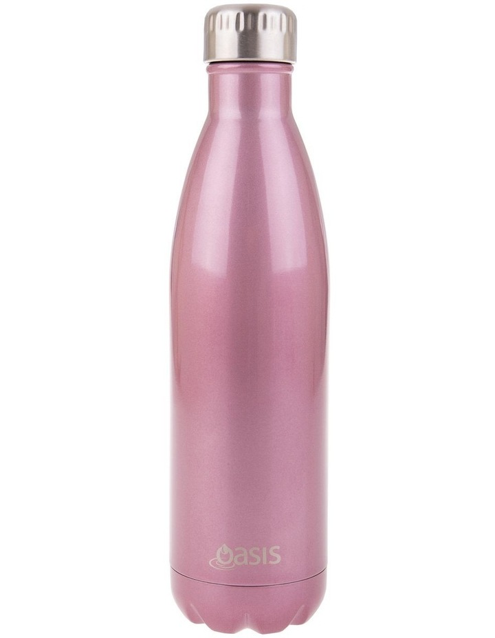 Stainless Steel Double Wall Insulated Drink Bottle 750ml - Blush image 1