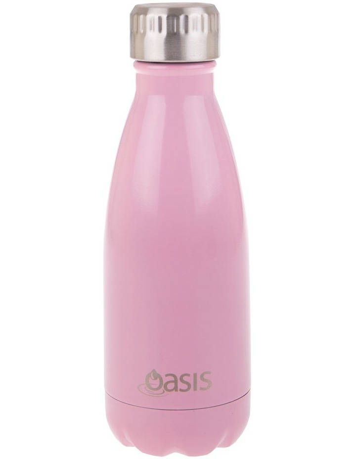 Stainless Steel Double Wall Insulated Drink Bottle 350ml - Powder Pink image 1