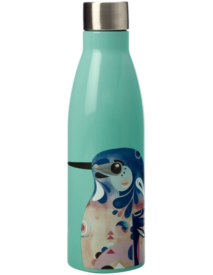 Pete Cromer Azure Kingfisher 500ml Double Wall Insulated Bottle in Teal image 1