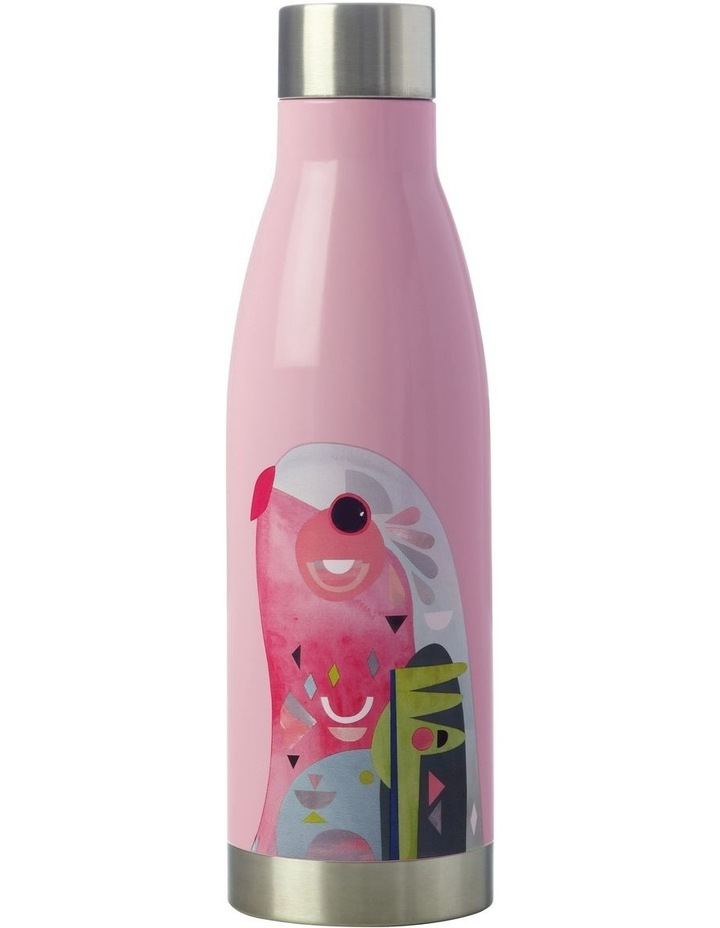 Pete Cromer Double Wall Insulated Bottle 500ML Parrot image 1