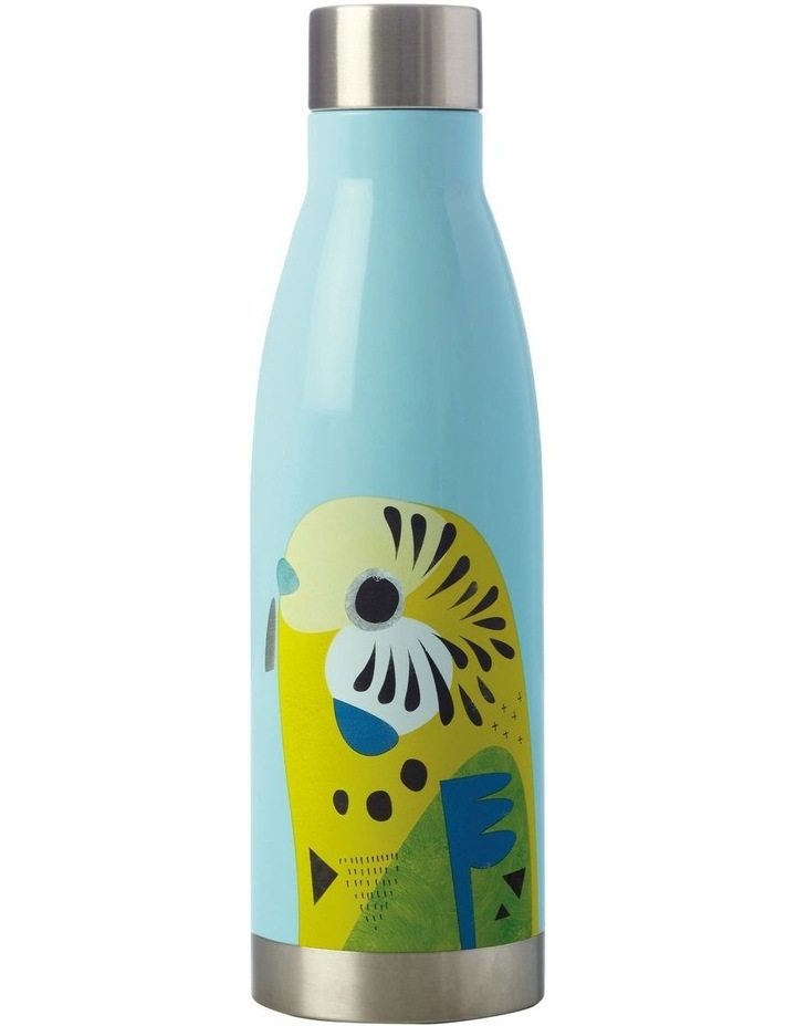 Pete Cromer Double Wall Insulated Bottle 500ML Budgerigar image 1