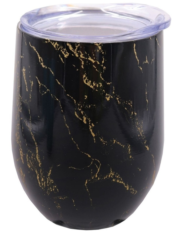 Stainless Steel Double Wall Insulated Wine Tumbler 330ml - Gold Onyx image 1