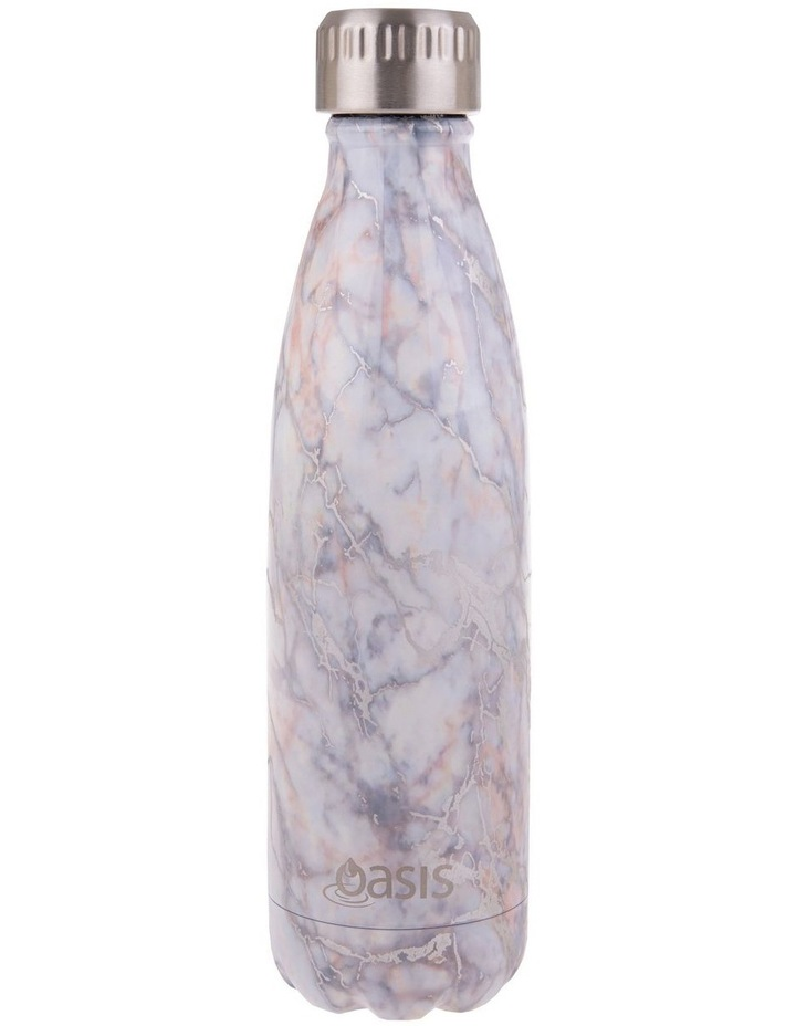 Stainless Steel Double Wall Insulated Drink Bottle 500ml - Silver Quartz image 1
