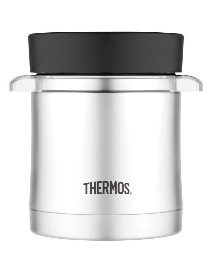 Microwavable Food Jar 355ml Stainless Steel Vacuum Insulated Sleeve image 1