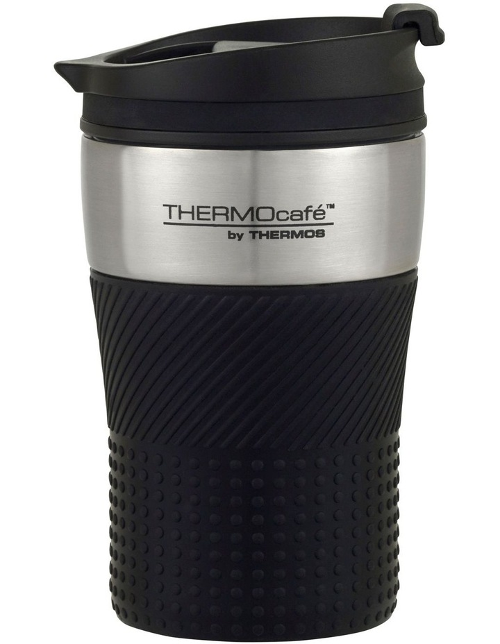 THERMOcafe  Stainless Steel Vacuum Insulated Travel Cup 200 ml Black image 1