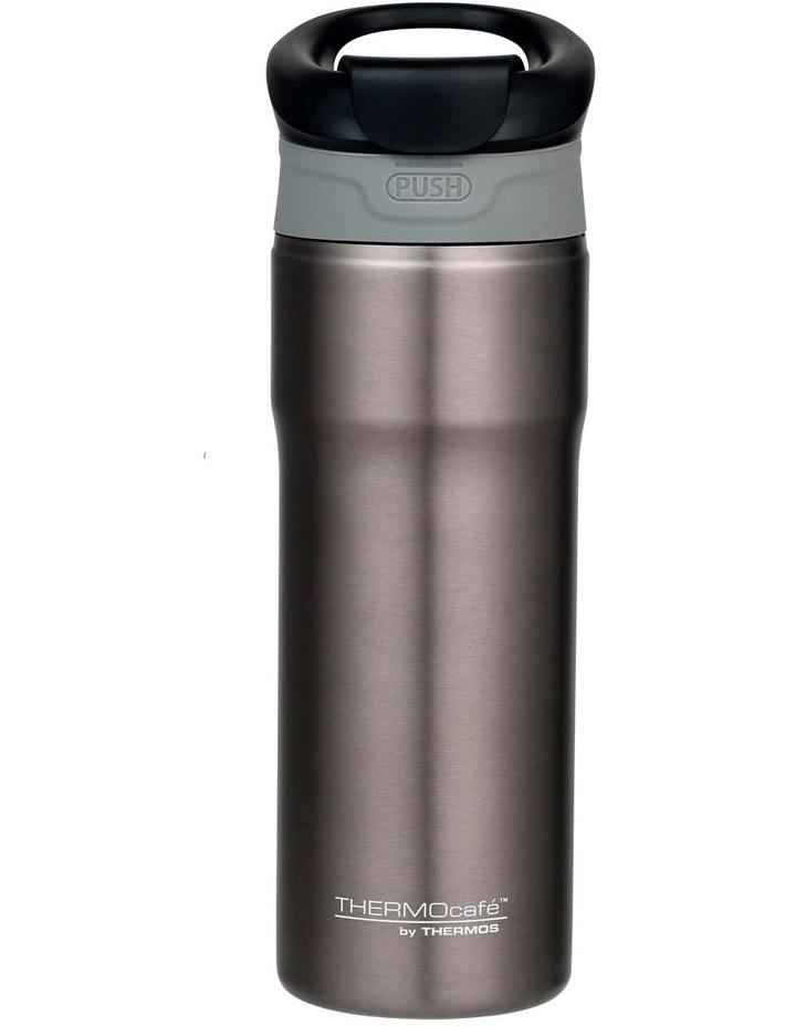 THERMOcafe Stainless Steel Vacuum Insulated Tumbler 450 ml Smoke image 1