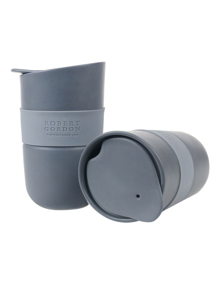 Journey Travel Mug Set of 2-Matte Grey image 1