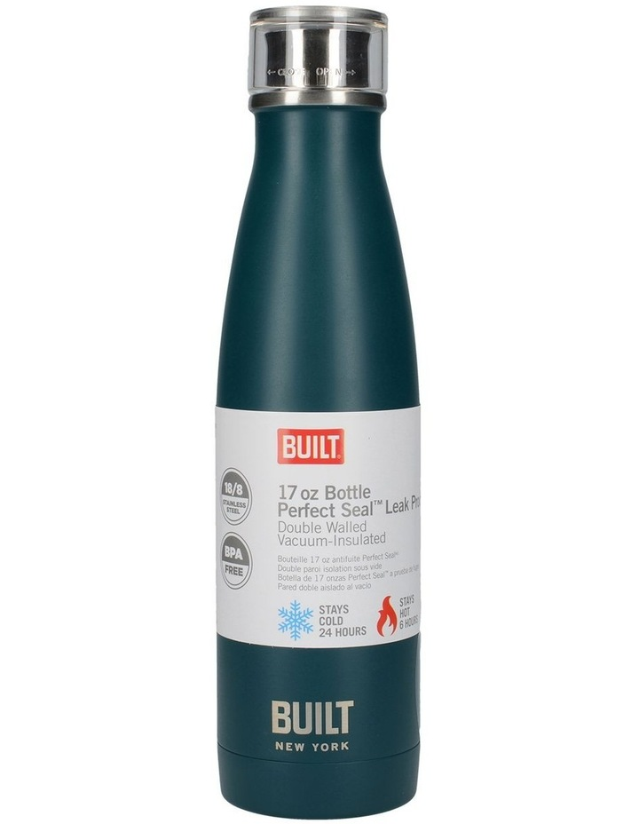 Perfect Seal Leak Proof Double Wall Vacuum Insulated Bottle 480ML Teal image 2