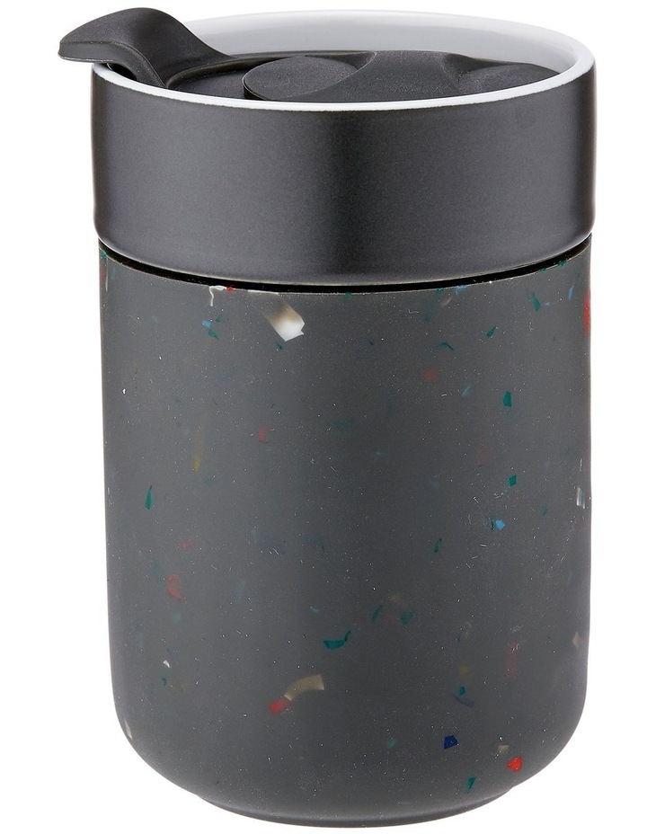 Eco Terrazzo Travel Mug Charcoal image 1