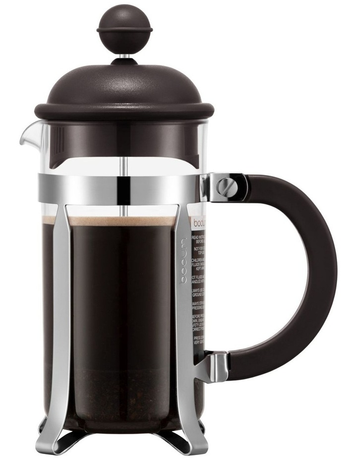 Caffettiera Coffee Maker 3 Cup 0.35l/12oz, Plastic Beaker - Dark Roast image 1