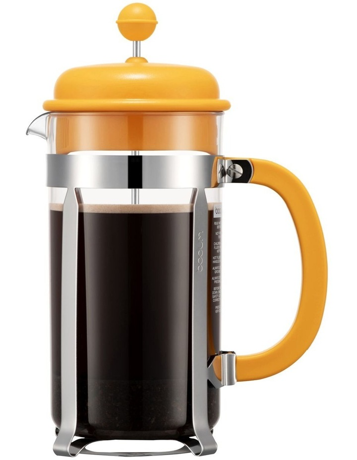 Caffettiera Coffee Maker 8 Cup 1l/34oz Plastic Beaker - Yolk image 1