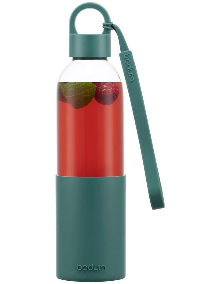 Melior Water Bottle Glass Forest 0.5 Litre image 1