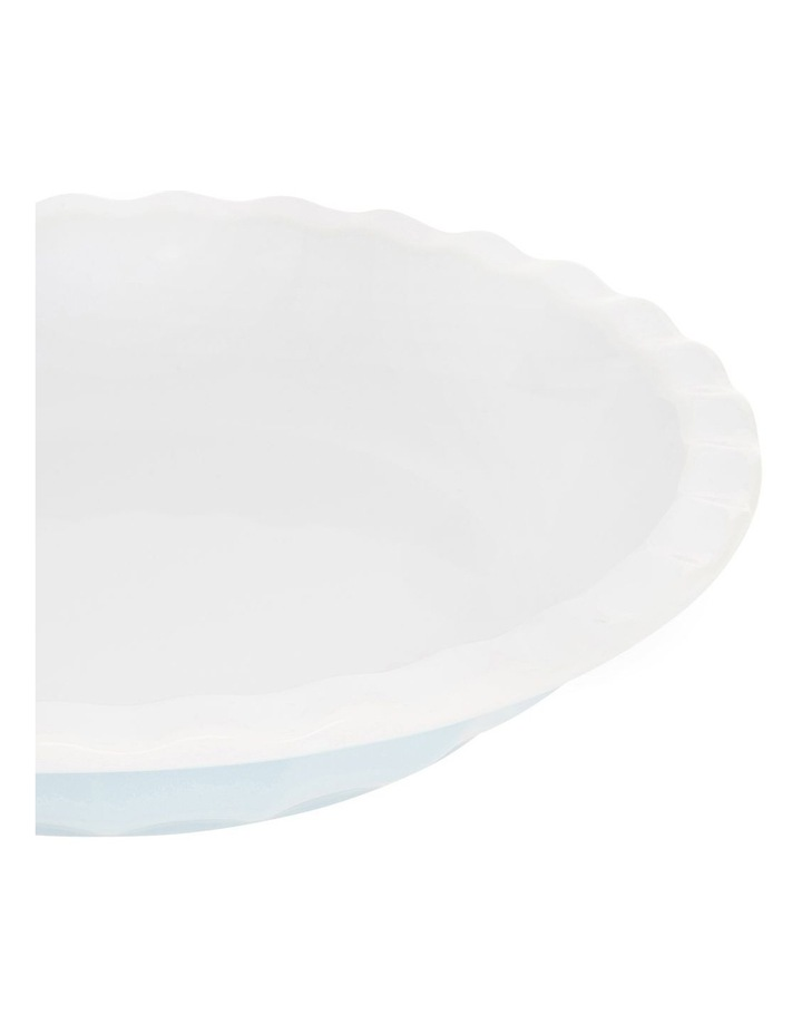 Ribbed Pie Dish - Blue image 2