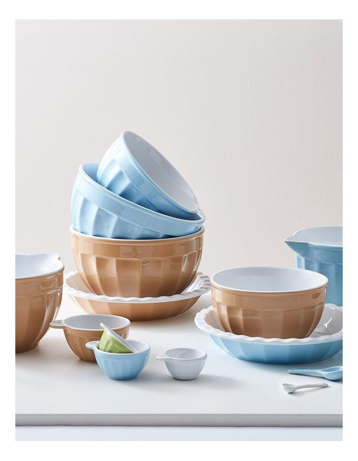 Heritage Ribbed Medium Mixing Bowl - Blue image 5