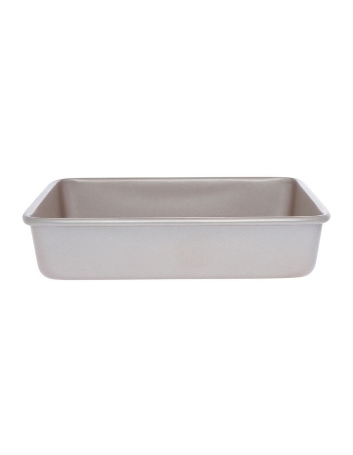 Luxe Square Cake Pan With Textured Base 24.2X24.2X4.8cm image 1