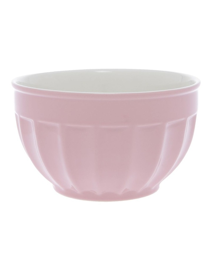 Ribbed Rose Medium Mixing Bowl image 1