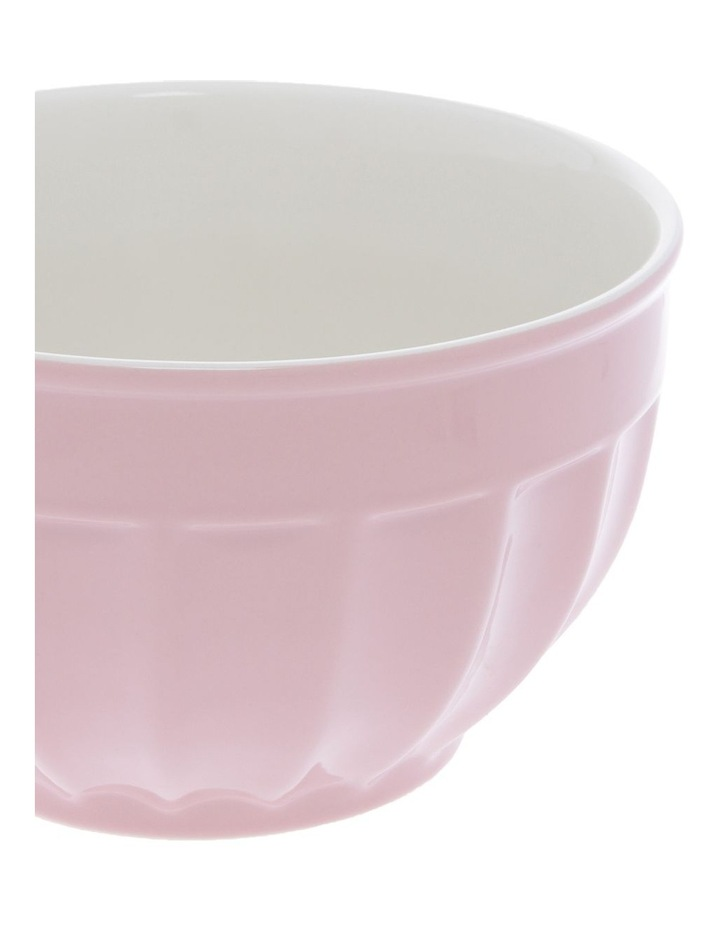 Ribbed Rose Medium Mixing Bowl image 2